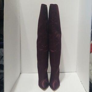Zara Woman Knee High Boots